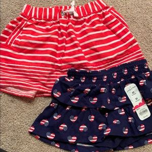 Girls skirt/skort size 2t